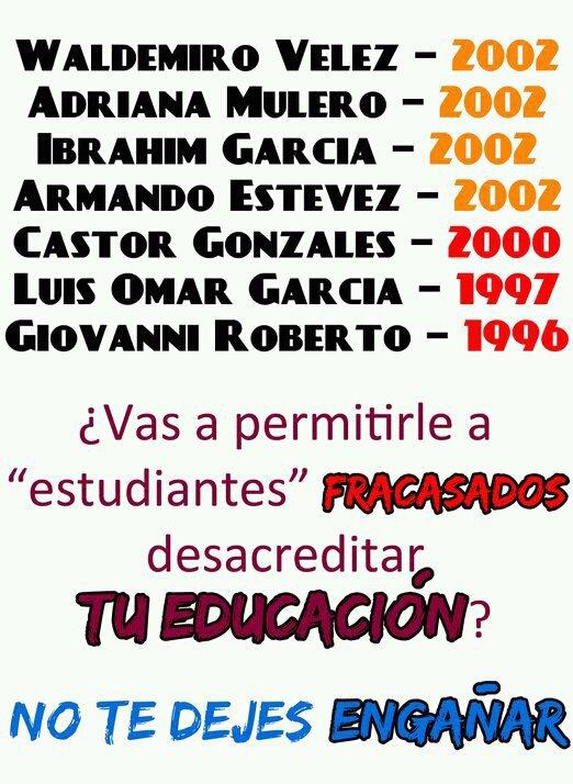 Cronología de una marcha política – Estaban todos allí… Los Chavistas Destructuvos Cómplices de GP's/PPD y los Tontos Utiles